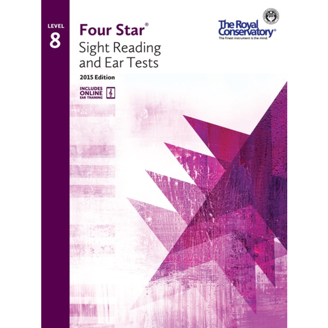 RCM - Four Star, Sight Reading and Ear Tests, Level 8
