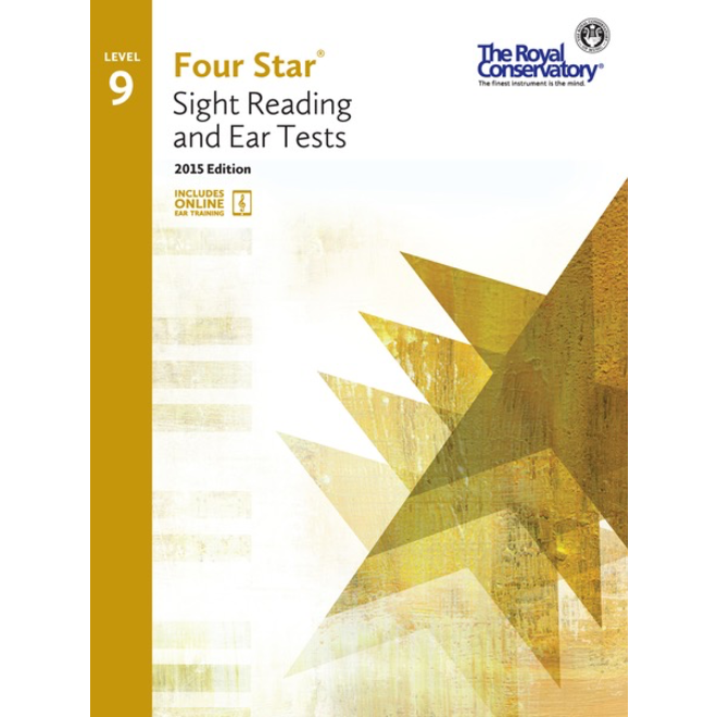 RCM - Four Star, Sight Reading and Ear Tests, Level 9