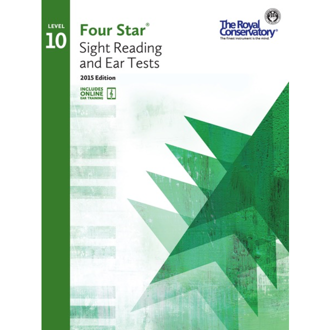 RCM - Four Star, Sight Reading and Ear Tests, Level 10