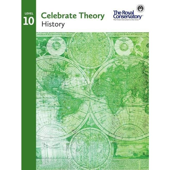 RCM - Celebrate Theory 10 History 2016 edition