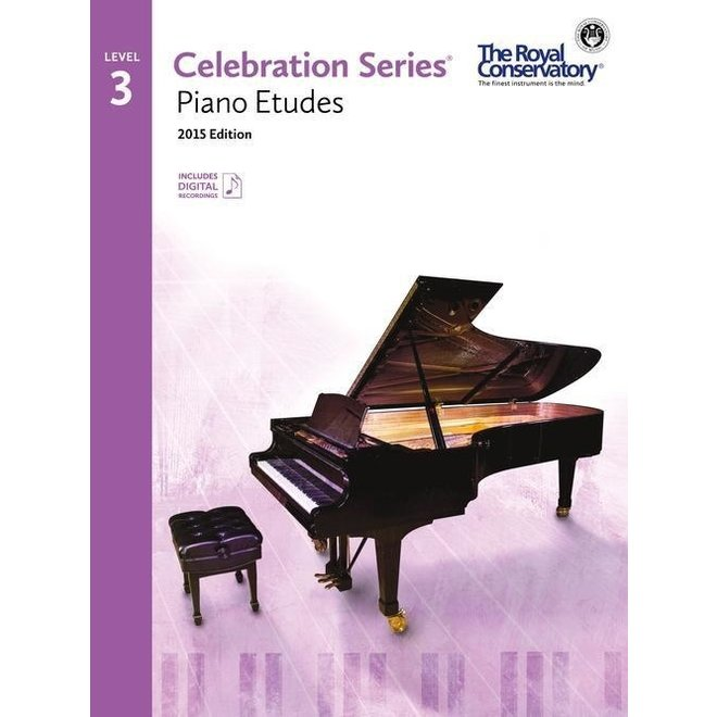 RCM - Celebration Series, 2015 Edition, Piano Studies/Etudes 3