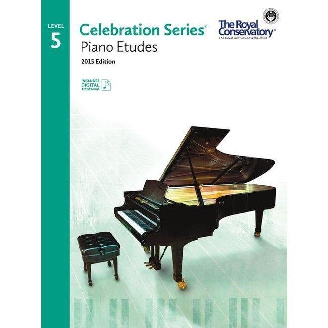 RCM - Celebration Series, 2015 Edition, Piano Studies/Etudes 5