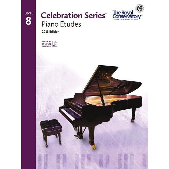 RCM - Celebration Series, 2015 Edition, Piano Studies/Etudes 8