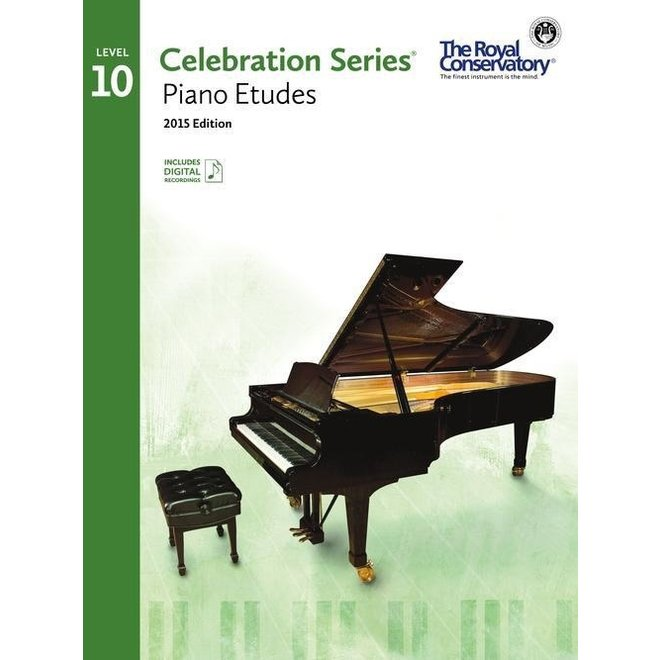 RCM - Celebration Series, 2015 Edition, Piano Studies/Etudes 10