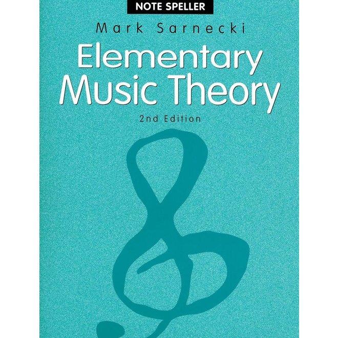 Mark Sarnecki - Elementary Music Theory (2nd edition), NoteSpeller