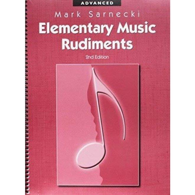 Mark Sarnecki - Elementary Music Rudiments (2nd edition), Advanced