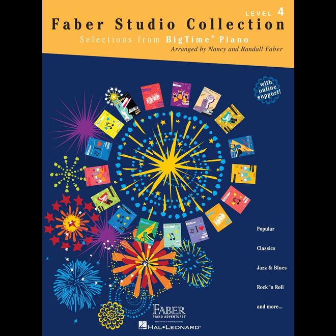 Hal Leonard - Faber BigTime Piano, Level 4, Faber Studio Collection
