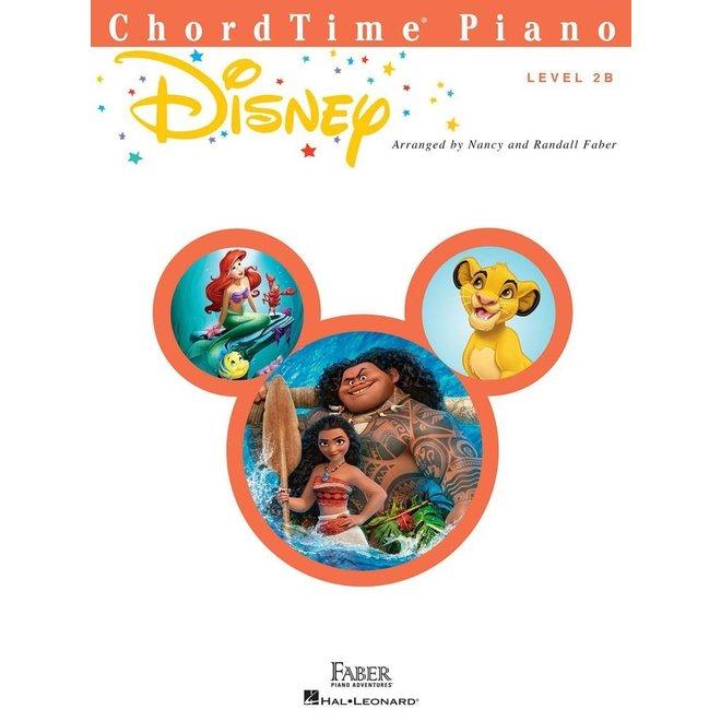 Hal Leonard - Faber ChordTime Piano, Level 2B, Disney