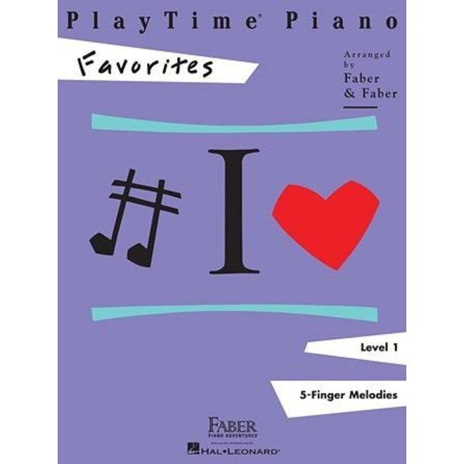 Hal Leonard - Faber PlayTime Piano, Level 1, Favorites