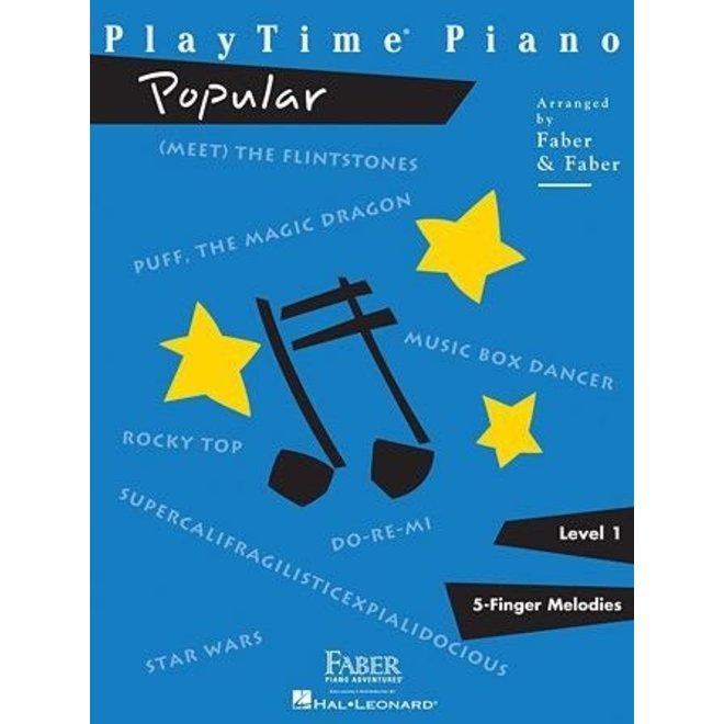 Hal Leonard - Faber PlayTime Piano, Level 1, Popular