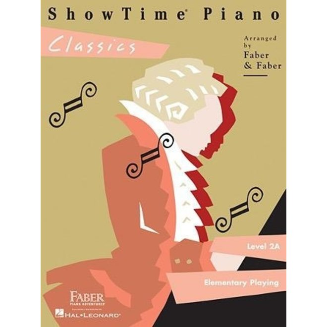 Hal Leonard - Faber ShowTime Piano, Level 2A, Classics