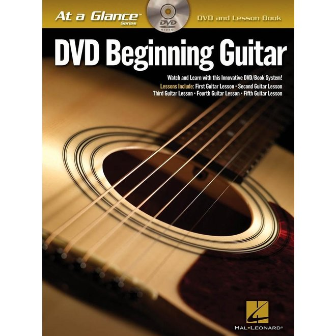 Hal Leonard - At a Glance Guitar Series, Book/DVD Pack, Beginning Guitar