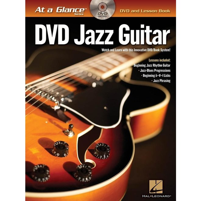 Hal Leonard - At a Glance Guitar Series, Book/DVD Pack, Jazz Guitar