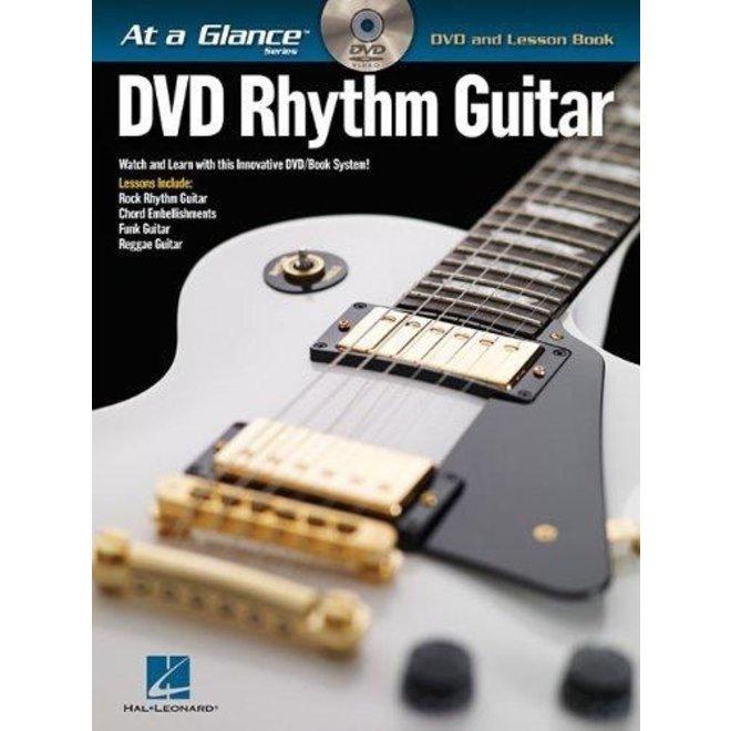 Hal Leonard - At a Glance Guitar Series, Book/DVD Pack, Rhythm Guitar