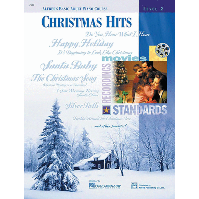 Alfred's - Basic Adult Piano Course: Christmas Hits Level 2