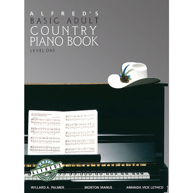 Alfred's - Basic Adult Piano Course: Country Book 1