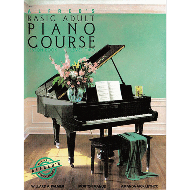 Alfred's - Basic Adult Piano Course: Lesson Book 2