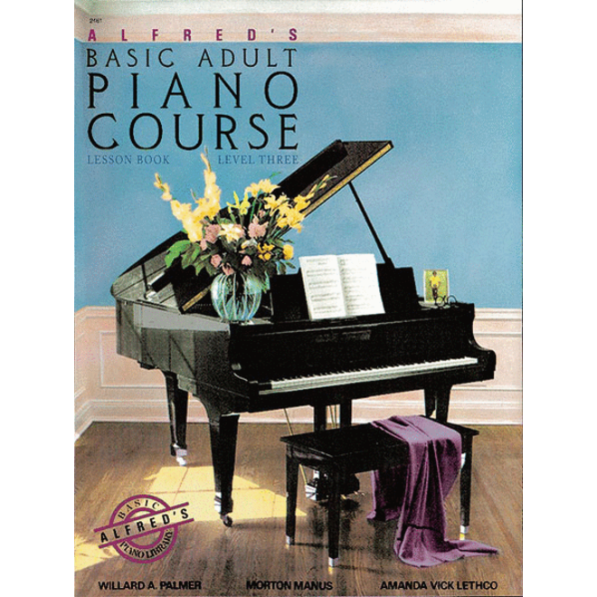 Alfred's - Basic Adult Piano Course: Lesson Book 3