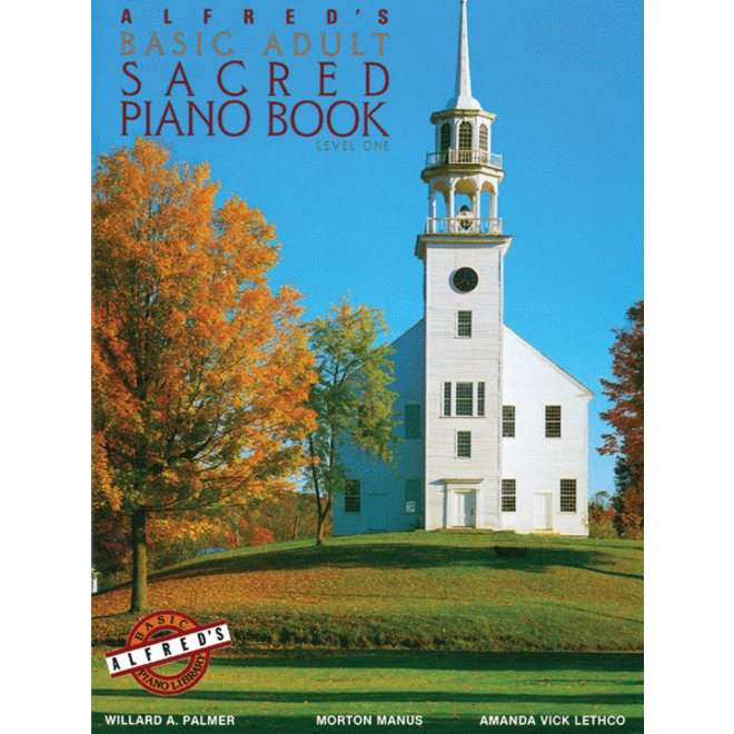 Alfred's - Basic Adult Piano Course: Sacred Book 1