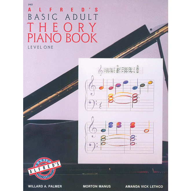 Alfred's - Basic Adult Piano Course: Theory Book 1