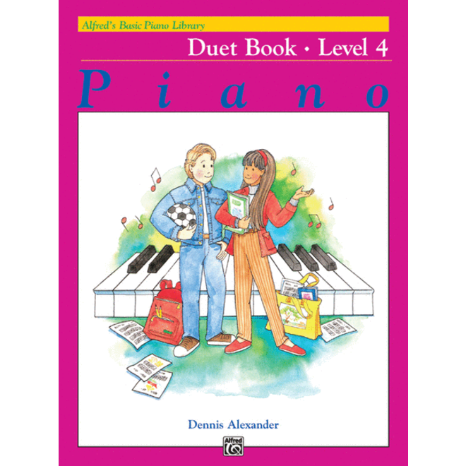 Alfred's - Basic Piano Course: Duet Book 4