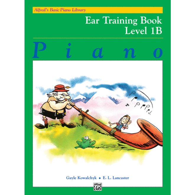 Alfred's - Basic Piano Course: Ear Training Book 1B