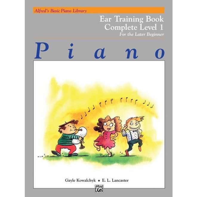 Alfred's - Basic Piano Course: Ear Training Book Complete 1 (1A/1B)