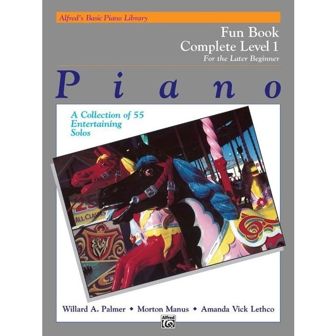 Alfred's - Basic Piano Course: Fun Book Complete 1 (1A/1B)