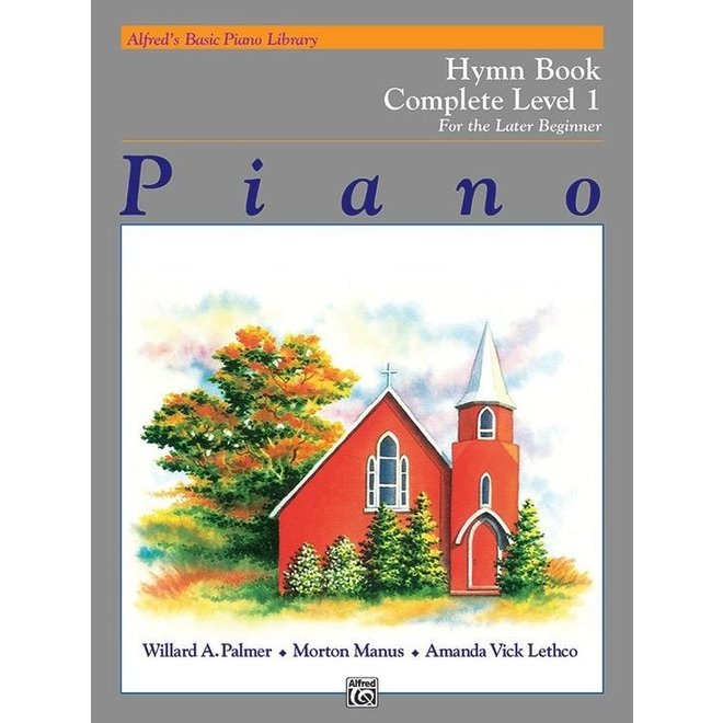 Alfred's - Basic Piano Course: Hymn Book Complete 1 (1A/1B)