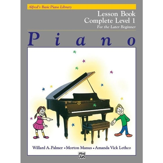 Alfred's - Basic Piano Course: Lesson Book Complete 1 (1A/1B)