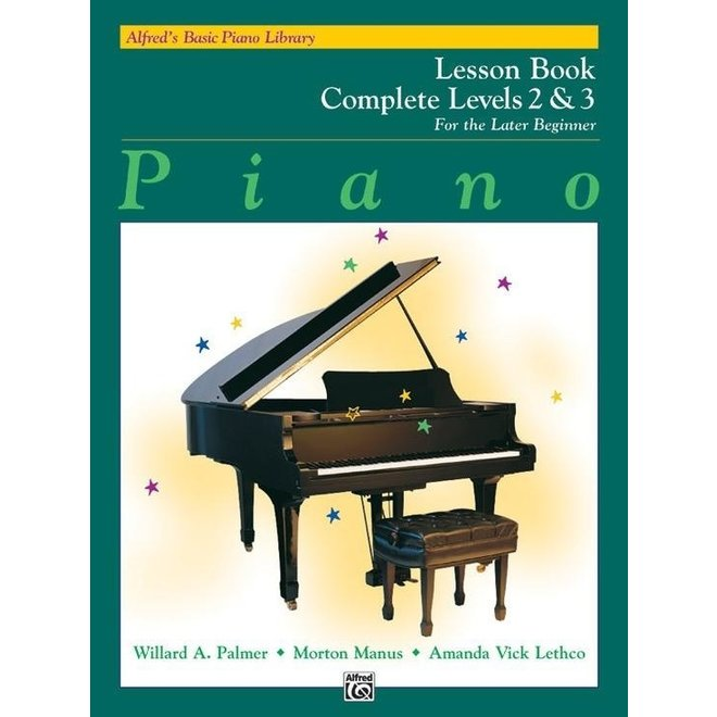 Alfred's - Basic Piano Course: Lesson Book Complete 2 & 3