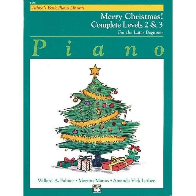 Alfred's - Basic Piano Course: Merry Christmas Book Complete 1 (2/3)