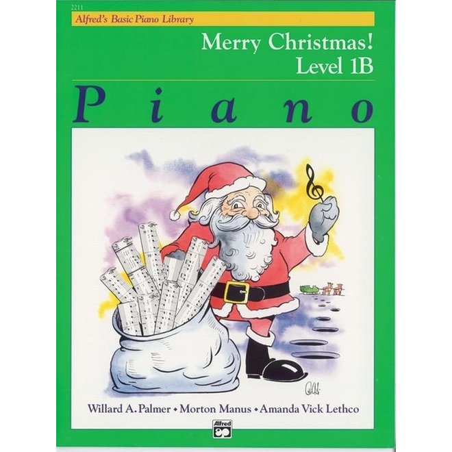 Alfred's - Basic Piano Course: Merry Christmas, Book 1B