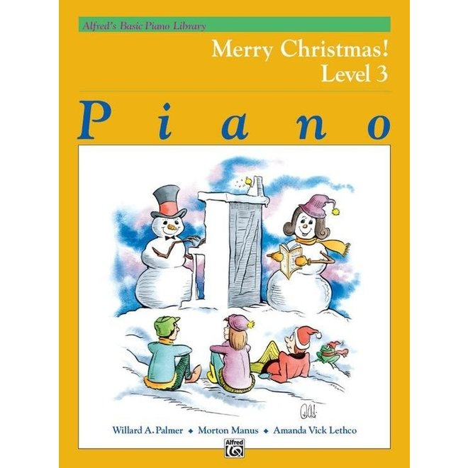 Alfred's - Basic Piano Course: Merry Christmas, Book 3