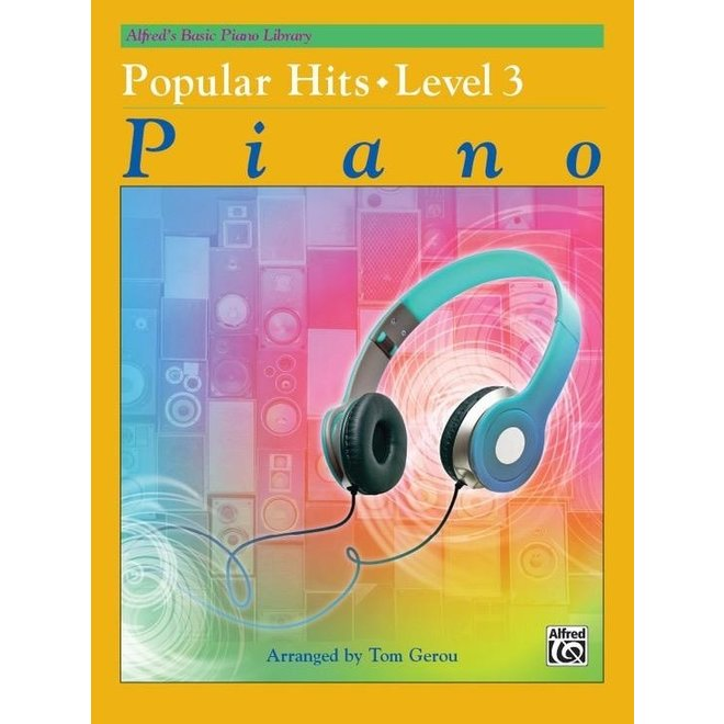 Alfred's - Basic Piano Course: Popular Hits 3