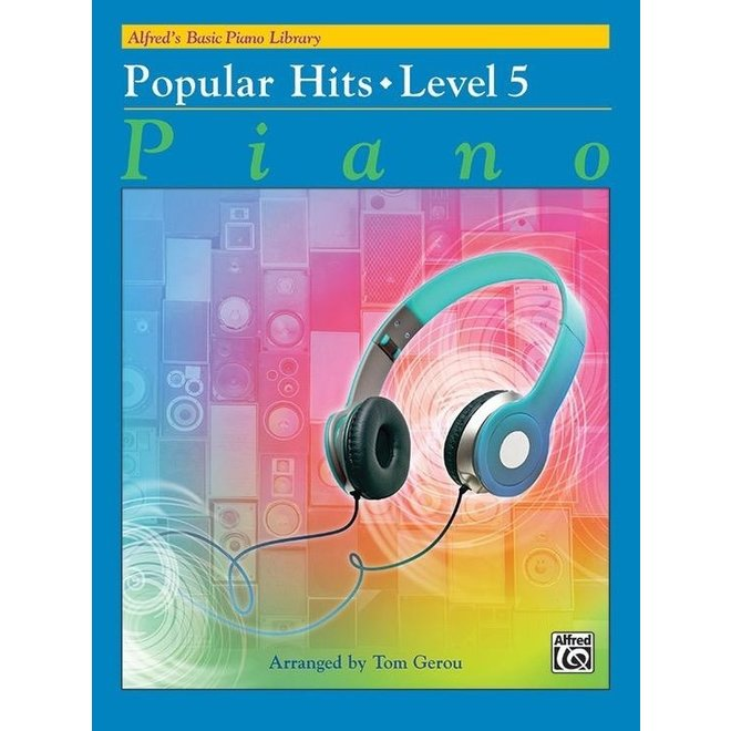 Alfred's - Basic Piano Course: Popular Hits 5