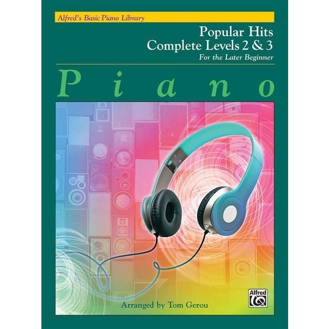 Alfred's - Basic Piano Course: Popular HIts Book Complete (2 & 3)