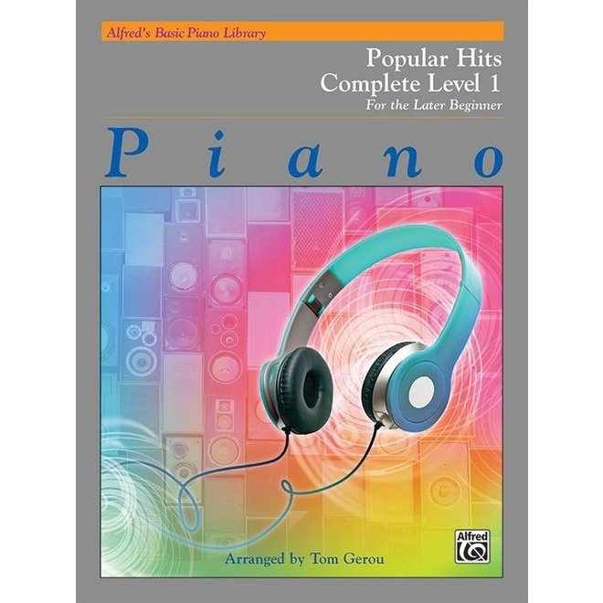 Alfred's - Basic Piano Course: Popular HIts Book Complete 1 (1A/1B)