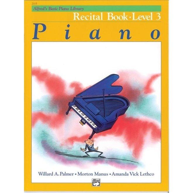 Alfred's - Basic Piano Course: Recital Book 3