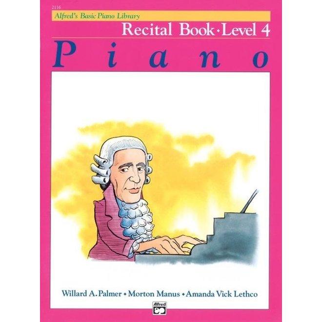 Alfred's - Basic Piano Course: Recital Book 4