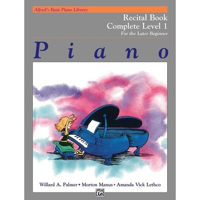 Alfred's - Basic Piano Course: Recital Book Complete 1 (1A/1B)