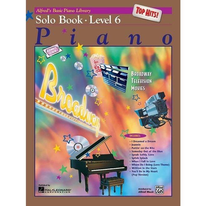 Alfred's - Basic Piano Course: Solo Book 6
