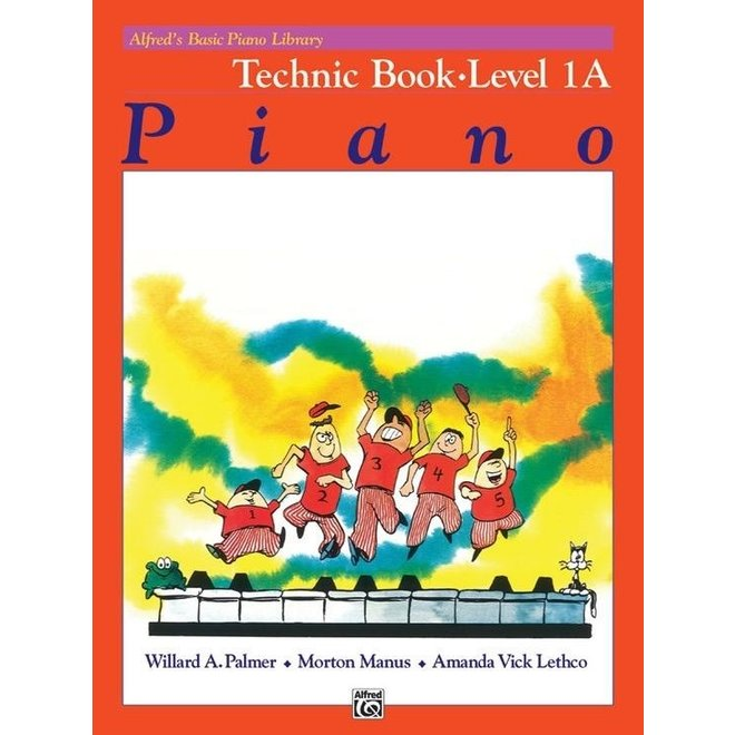 Alfred's - Basic Piano Course: Technic Book 1A