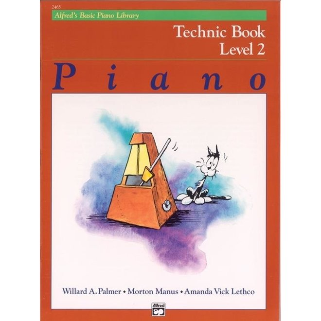 Alfred's - Basic Piano Course: Technic Book 2