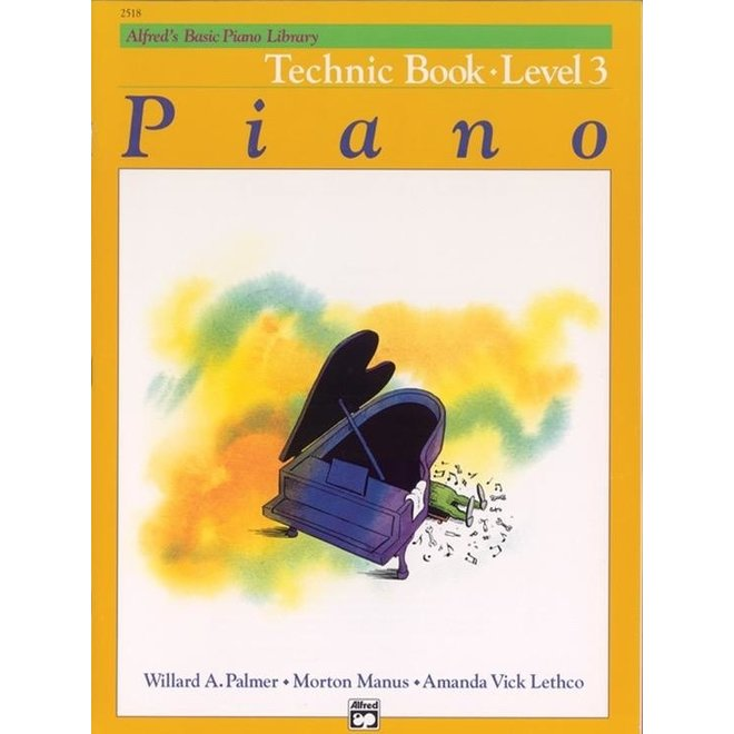 Alfred's - Basic Piano Course: Technic Book 3