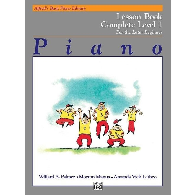Alfred's - Basic Piano Course: Technic Book Complete 1 (1A/1B)