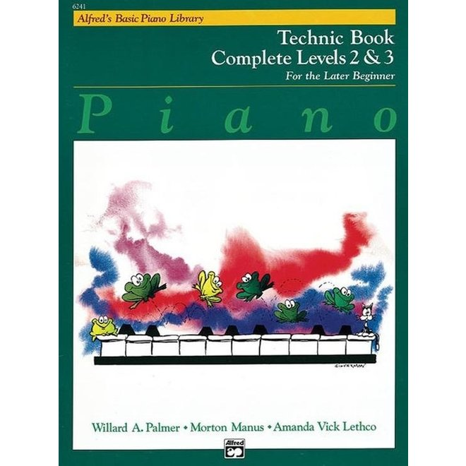 Alfred's - Basic Piano Course: Technic Book Complete 2 & 3