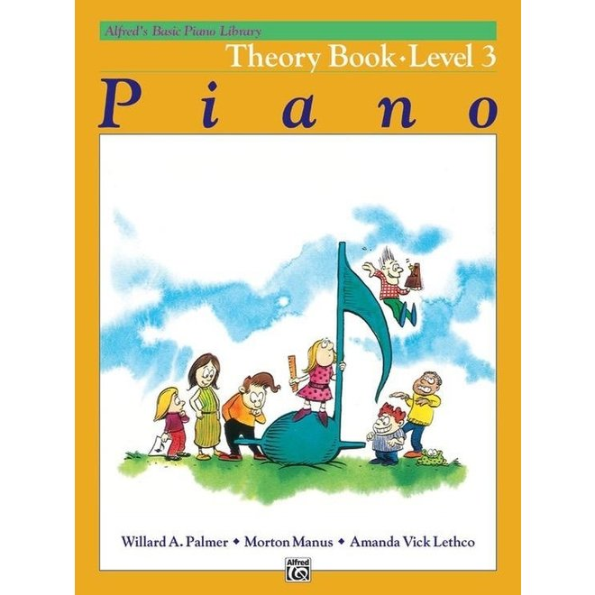 Alfred's - Basic Piano Course: Theory Book 3