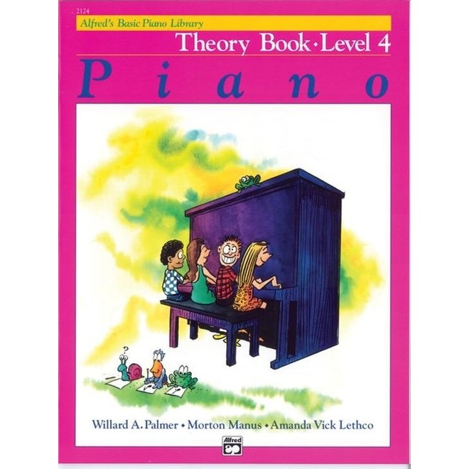 Alfred's - Basic Piano Course: Theory Book 4