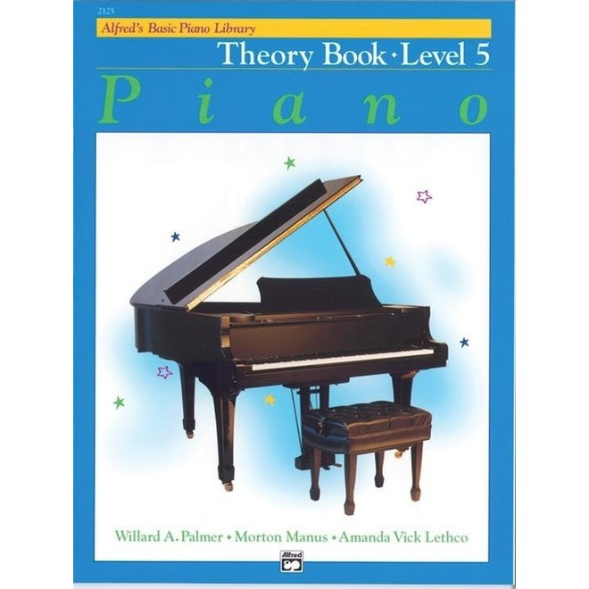 Alfred's - Basic Piano Course: Theory Book 5